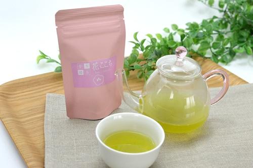 花ここち ティーバッグ6個/袋   【香り緑茶/牧之原産】