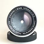 Canon Lens 100mm F3.5 Ⅱ