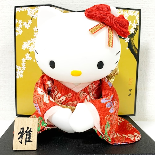 ハローキティお座り日本人形