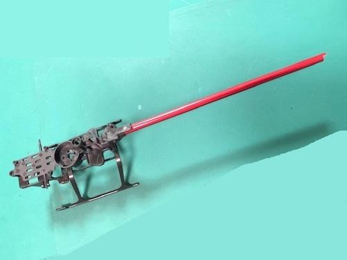 ★K130アルミレッドカラーパイプ ◆K130アルミパイプ両端カット加工済み