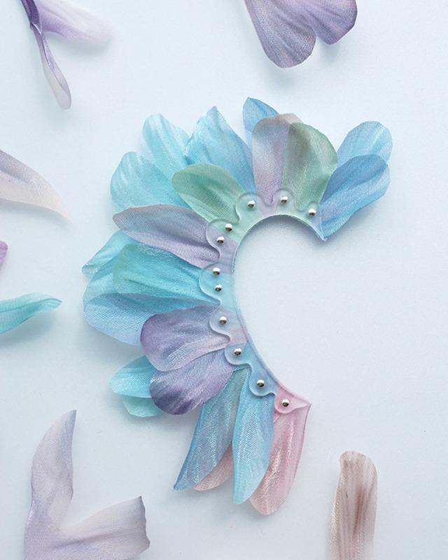 """Color air """"Bouquet"""" イヤーカフ"""