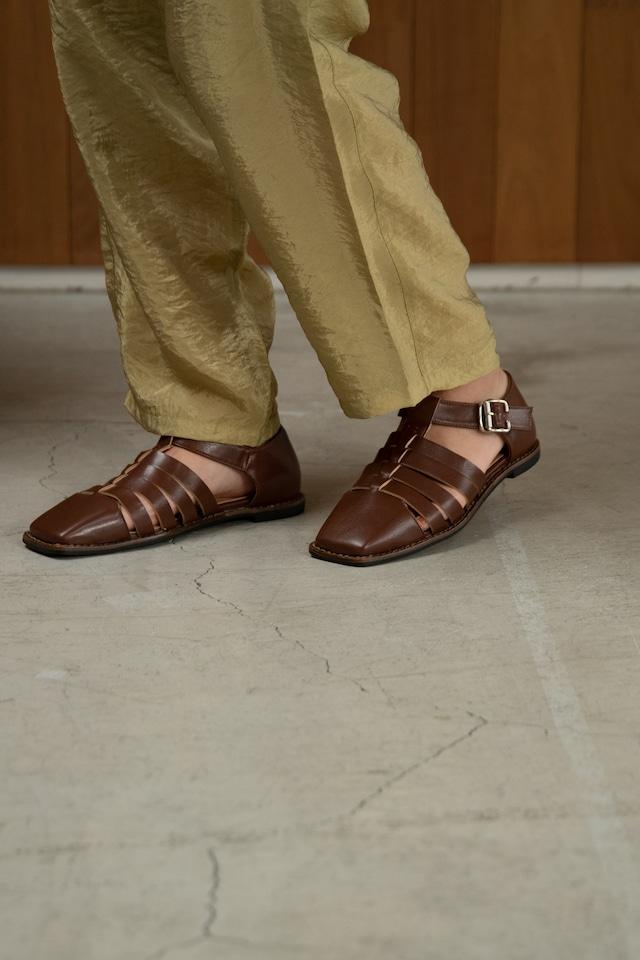 stitch gurkha sandal