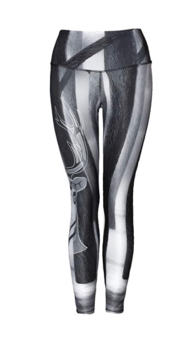 Mystic Black & White Legging