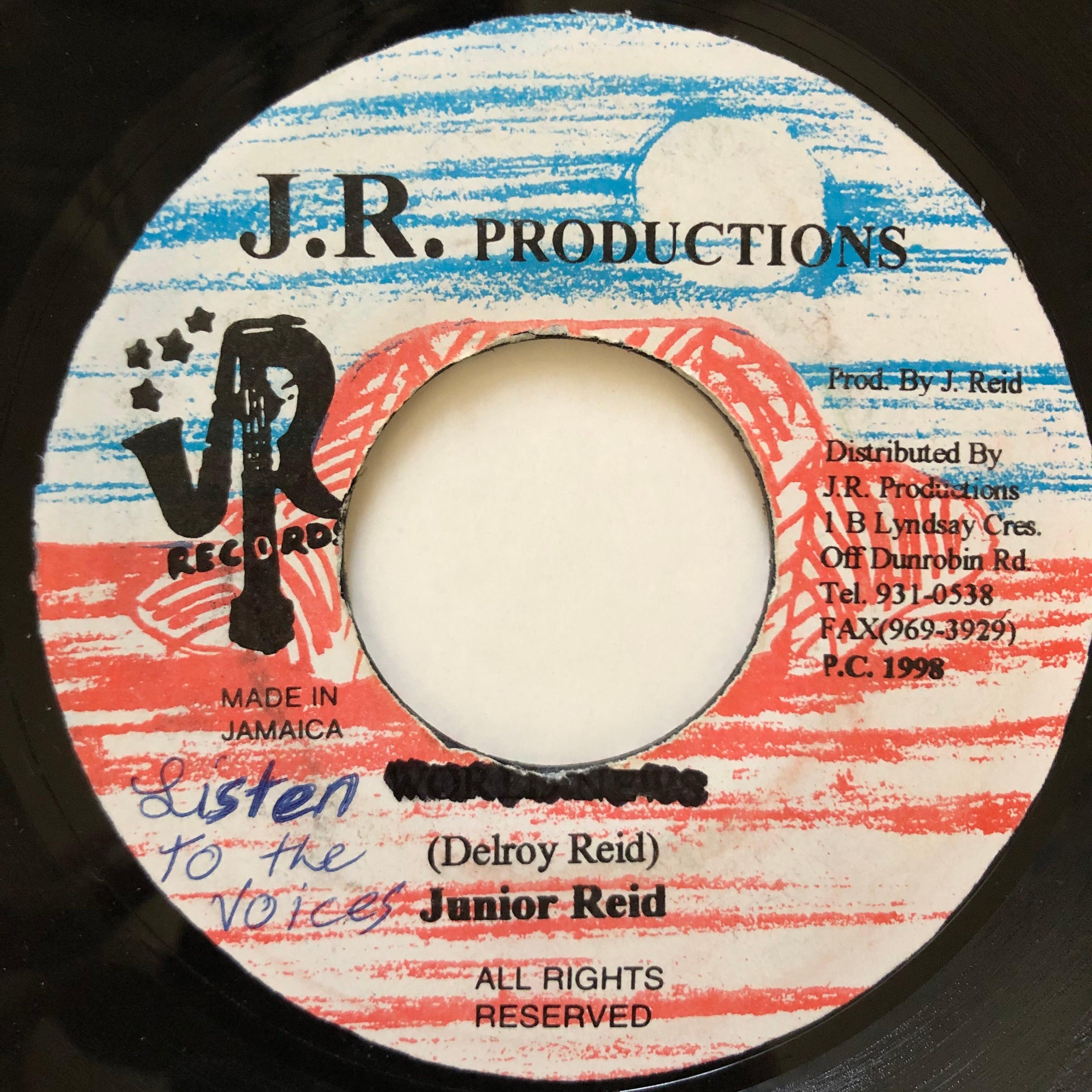 Junior Reid - Listen To The Voices【7-20569】