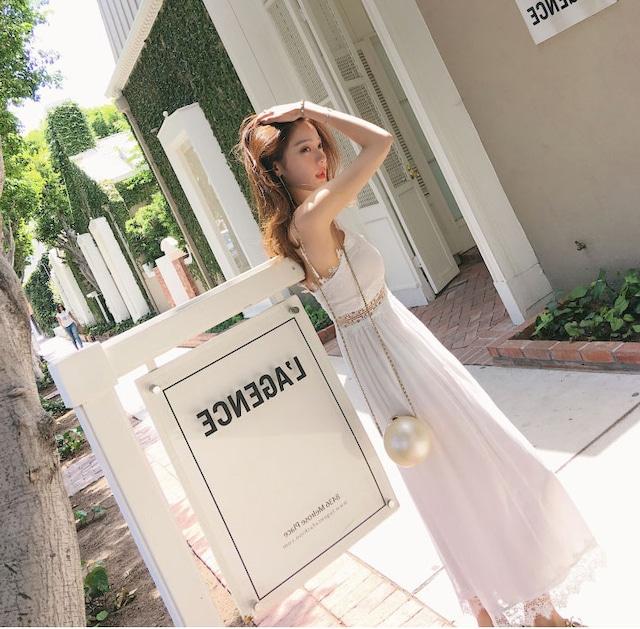 華やかレース❤︎夏のパンツドレス★2020S/S