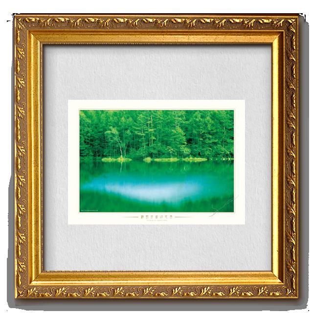 コピー:ポスター 水辺の情景