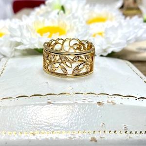 (日本の秀逸なデザイン✨ヴィンテージリング)Japanese vintage ring
