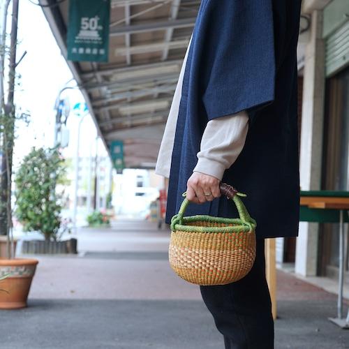 【ボルガバスケット】amoamo basket ガーナの手編み籠 02