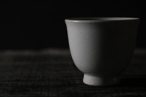 豊増 一雄 白瓷茶杯