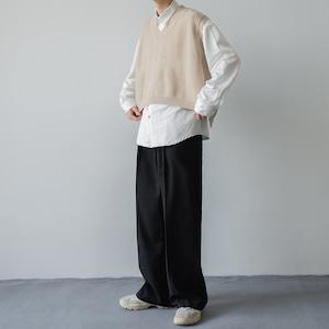 V-neck short vest   b-020