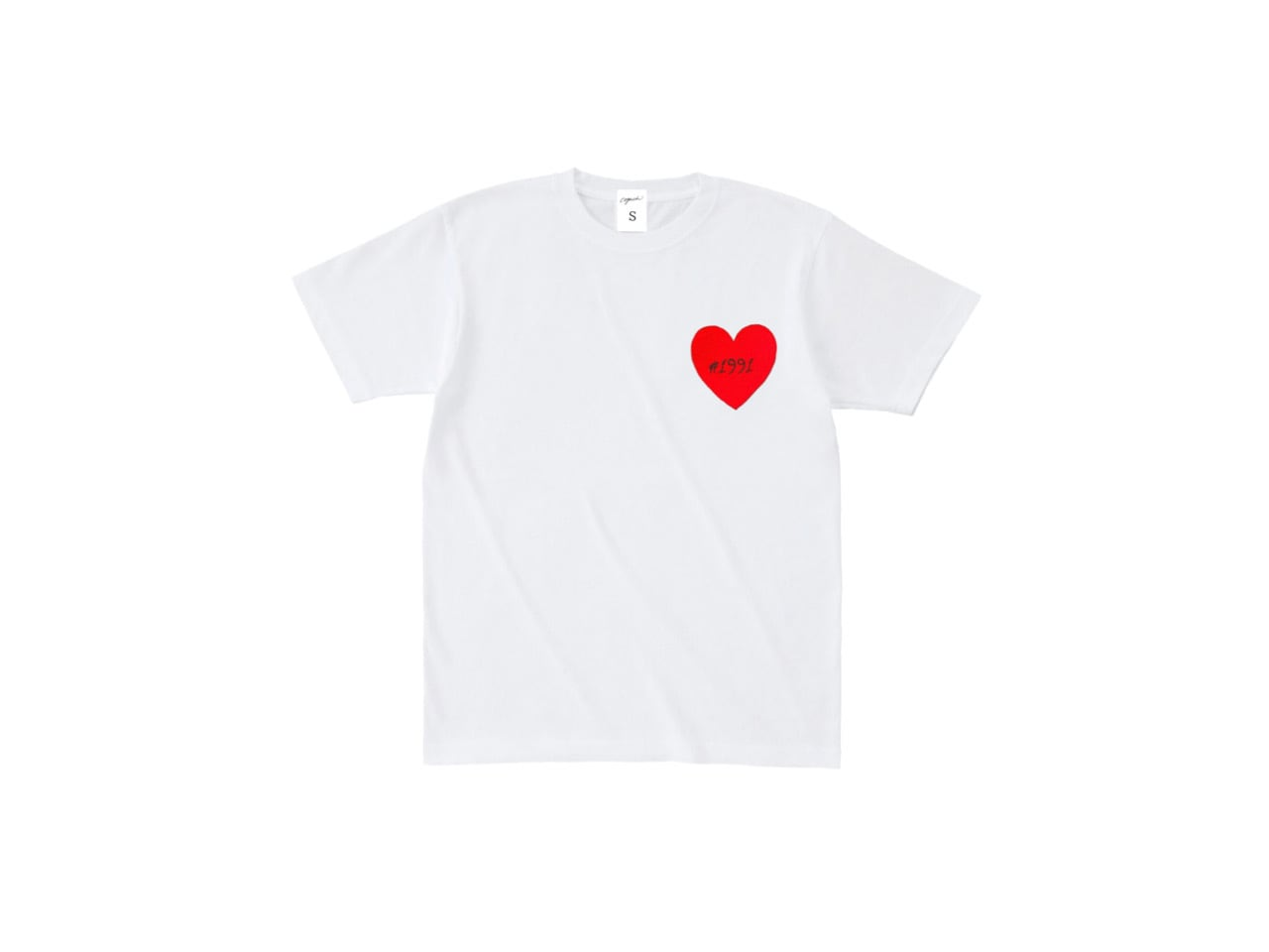 1991 Heart Patch T-shirts (WH)
