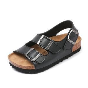 7854子供靴 キッズ ジュニア シューズ サンダル  女の子 男の子 女児 ベビー 子ども 夏シューズ 黒
