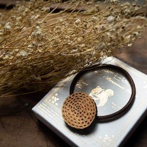 mow mow / モワモワ(Hair Elastic)/ 茶