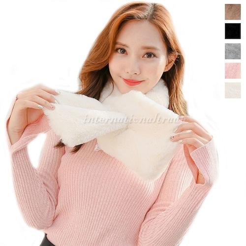 マフラー ファーマフラー フェイクファー 秋冬 あったか ふわふわ もこもこ 防寒 レディースファッション ファッションアイテム 女性用 ファッション小物 雑貨 可愛い かわいい 大人 シンプル ブラック ピンク ホワイト グレー ブラウン cw-a-4349