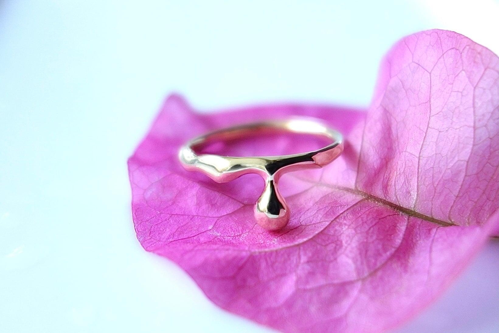 k18yg Ring
