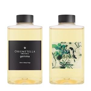 オリエンステラ gemma ORGANICS Hair & Body Soap M [300ML]