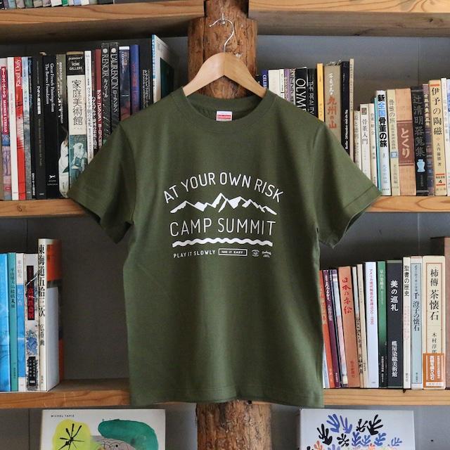 Tシャツ / CAMP SUMMIT / Olive