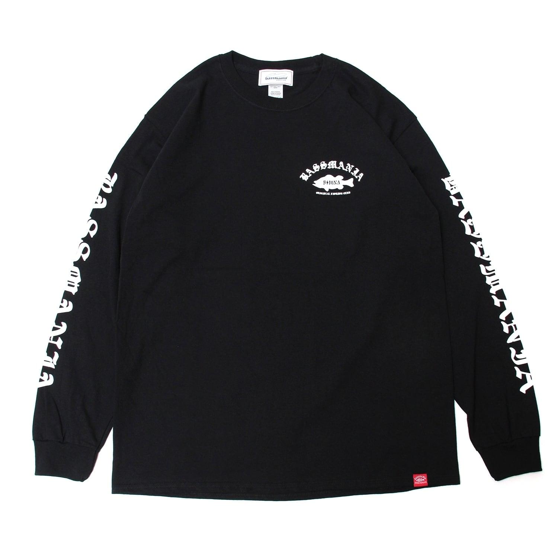 OLD ENGLISH ロゴ ロングスリーブTシャツ [BLK]