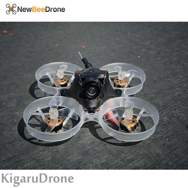 NewBeeDrone Hummingbird F4 Pro 1S Brushless BNF (Frsky D8 D16, Futaba S-FHSS)