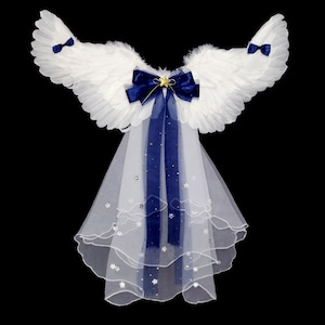 3707キッズつばさ 天使ツバサ 翼 コスプレ 子供 あの子 ハロウィーン halloween クリスマス コスプレ コスチューム 仮装 変装 衣装 パーティー イベント 文化祭