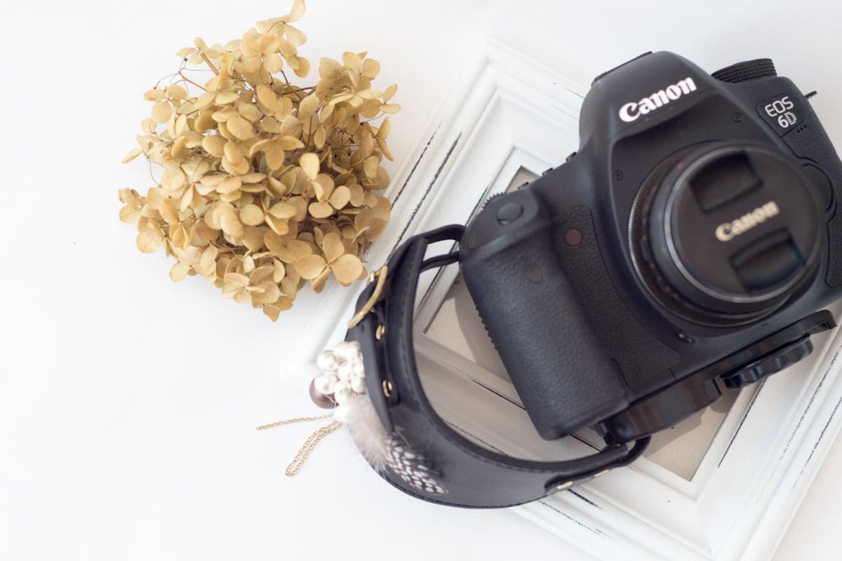 大人の女性へカメラハンドストラップ