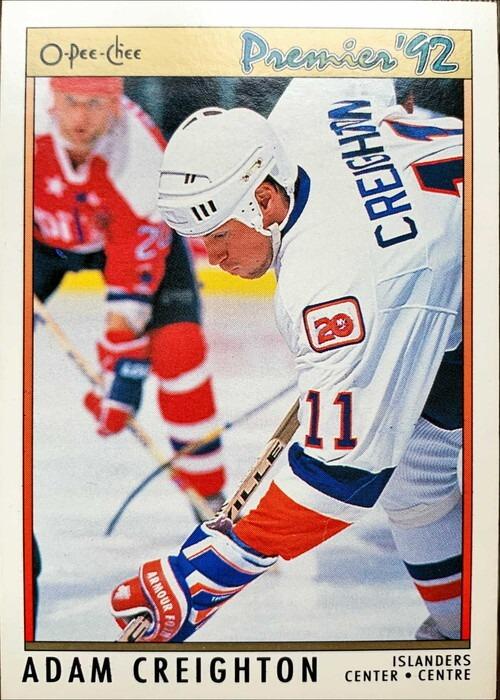 NHLカード 91-92 O-PEE-CHEE ADAM CREIGHTON #171 ISLANDERS