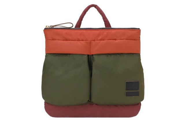 MARNI ×PORTER MINI HELMET BAG-2 Pockets KHAKI