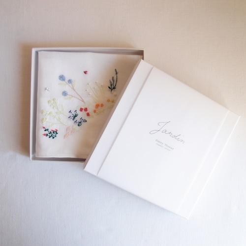 〈再入荷〉Embroidery Kit 【Jardin】| Sunny Thread 刺繍キット