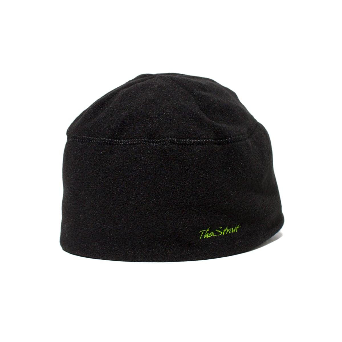 Polar Fleece Watch Cap #BLACK