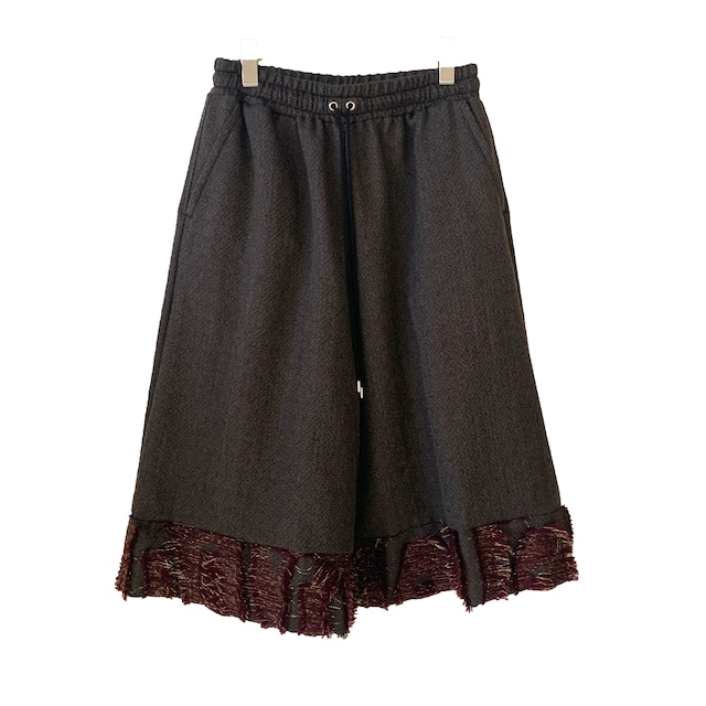 Wide Pants red 1 (inbi 20aw sample)