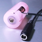 単2電池形ACアダプター接続ケーブル 1m これで電池交換を不要に! [A-5521-CBAT-R1m]