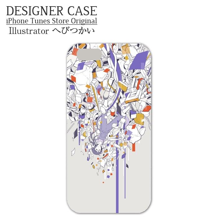 iPhone6 Plus Hard Case[jiyuu rakka]  Illustrator:hebitsukai