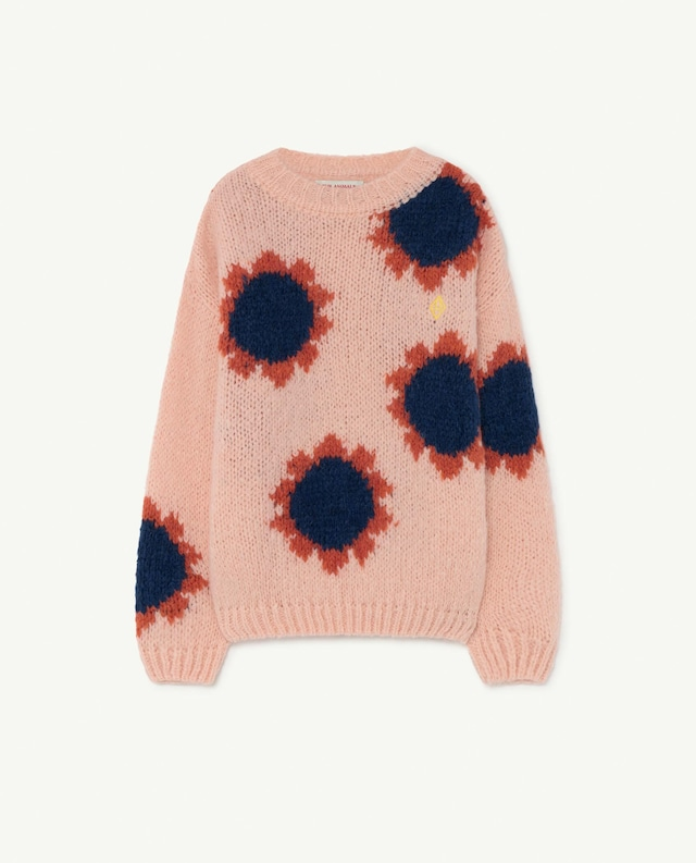 【21AW】the animals observatory(TAO)FLOWERS BULL KIDS SWEATER ニット