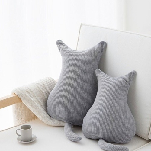 cat cushion 2size 9colors / キャット クッション 猫 韓国雑貨
