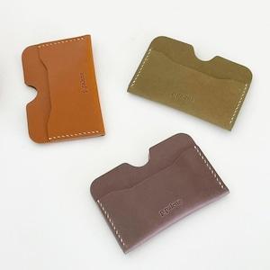 [p.palette] leather ミニ カードウォレット(全3色)