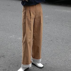 Corduroy straight pants(コーデュロイストレートパンツ)a-809