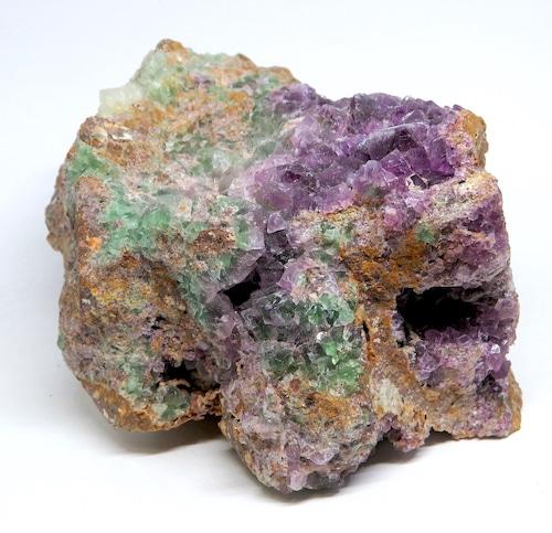 自主採掘!カリフォルニア産 フローライト 蛍石 原石 833,2g  FL183 鉱物 天然石 パワーストーン