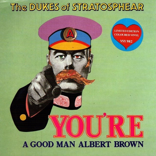 【7inch・英盤】The DUKES of STRATOSPHEAR / You're A Good Man Albert Brown