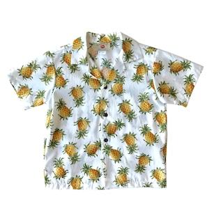 キッズ アロハセットアップ  コットン  /  Pineapple