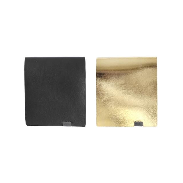 ボレロ ショートウォレット2.0 ブラック×ゴールド&ゴールド×ブラック