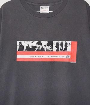 VINTAGE BAND T-shirt -U2 / ELEVATION TOUR-