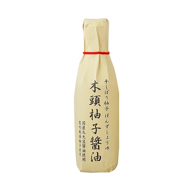 木頭柚子醤油  (雑誌『BRUTUS:日本一のお取り寄せを探せ!』選出品)無添加