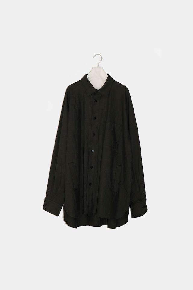 YOKO SAKAMOTO / ATELIER SHIRT(BLACK)