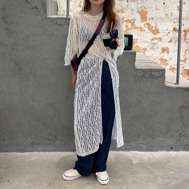 Long lace tops KRE973