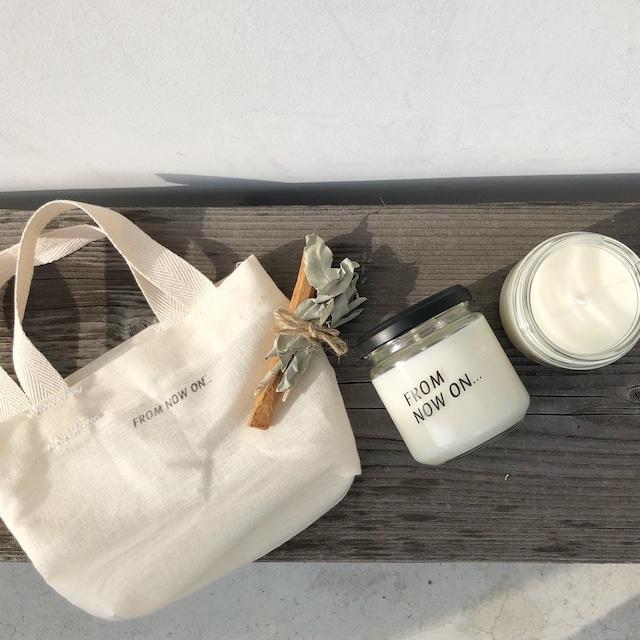 """残りわずか【 限定 Special Set 】"""" FNO Original soy wax candle pure Palo santo & White sage / オリジナル ソイワックス キャンドルピュア パロサントアンドホワイトセージ """""""