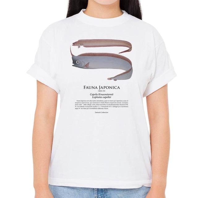 【アカタチ・アカナマダ】シーボルトコレクション魚譜Tシャツ(高解像・昇華プリント)