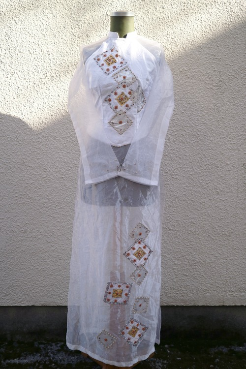 Organdy china dress