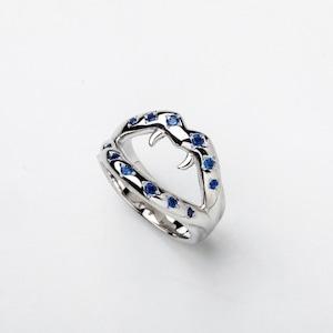 Fang Ring Blue