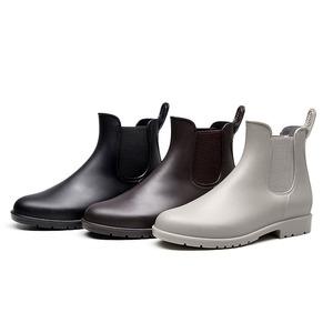レディース 雨靴 長靴  レインブーツ レインシューズ 滑り止め ショートブーツ 7300