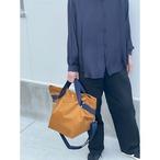 【sandglass】duffle bag(M)gold / 【サンドグラス】ダッフルバッグ(M)本体ゴールド